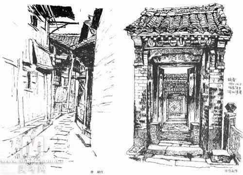 一些不错的风景速写!_第1页_南京山水国画院_教育