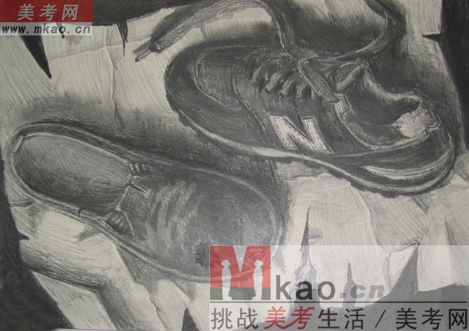 2013年江南大学优秀素描试卷