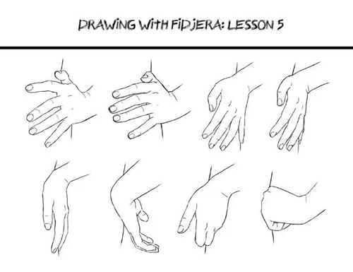 How To Draw Wide Hips